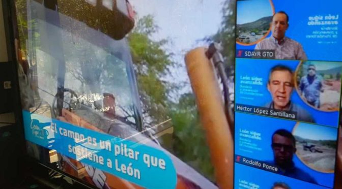 Guanajuato: Invierten 2.4 mdp para obras de captación de agua en Léon (Gobierno del Estado de Guanajuato)