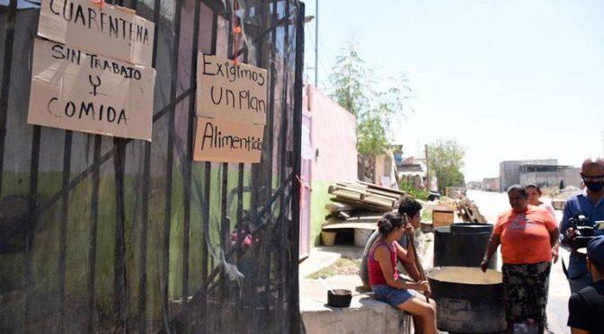 Coahuila: No tienen comida ni agua, la pandemia los está castigando (Noticias de El Sol de La Laguna)