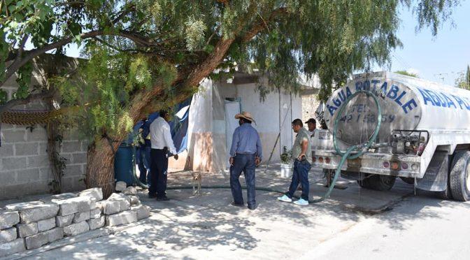 Puebla: Abastecen de Agua a San Juan Ixcaquixtla, tras daños en el pozo (Puebla Noticias)
