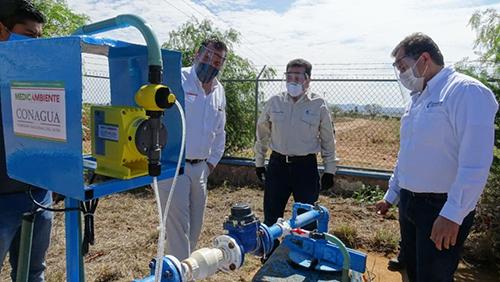 Zacatecas: Godezac invierte 2.7 mdp para rehabilitar bombas cloradoras de agua en 45 comunidades (La Jornada Zacatecas)