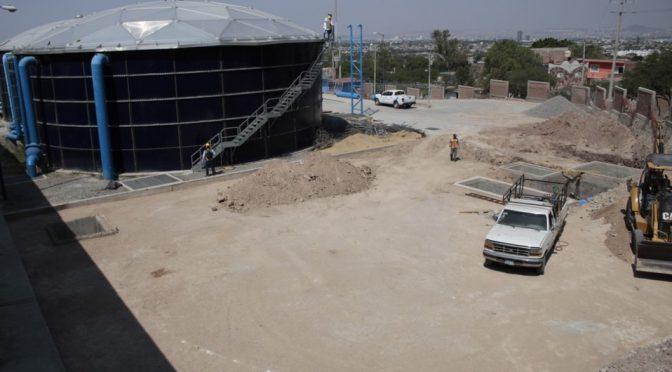 Guanajuato: Reforzarán servicio de agua con construcción de tanque en zona norte de León (Milenio)