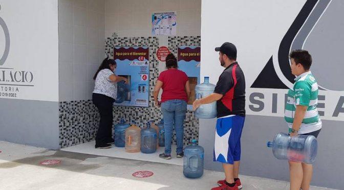 Coahuila: Piden conciencia en el uso de los despachadores de agua (Noticias de El Sol de La Laguna)