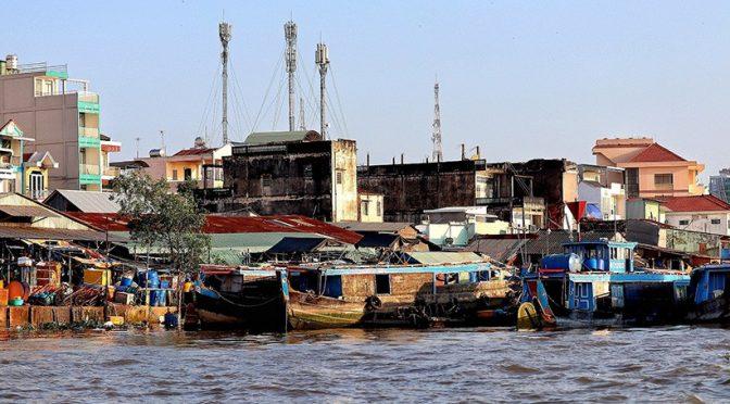Las presas de China en el río Mekong acaparan el agua durante la sequía (iagua)
