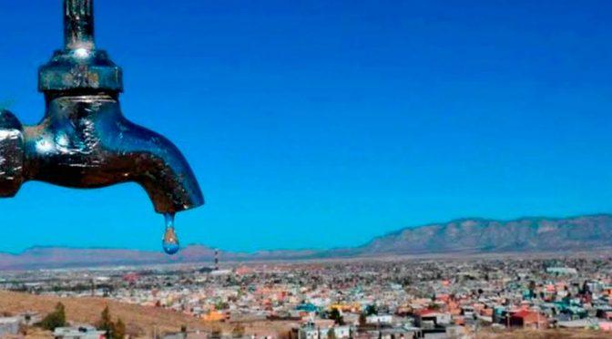Chihuahua: Justifica JMAS desabasto de agua por cuarentena (El Diario de Chihuahua)
