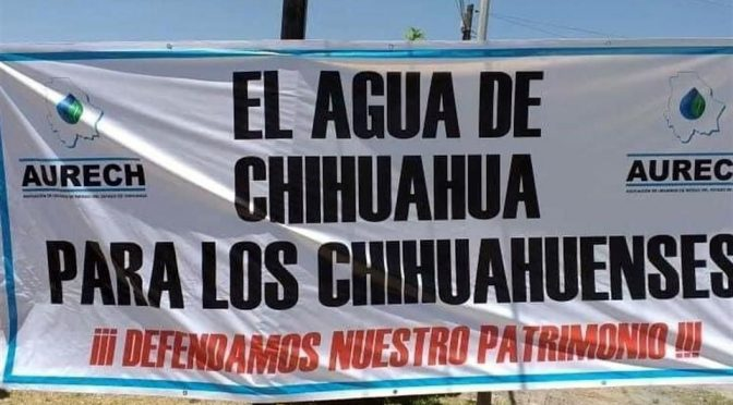 Chihuahua: Bloquean puente fronterizo por pago de agua a EU (El Diario de Chihuahua)
