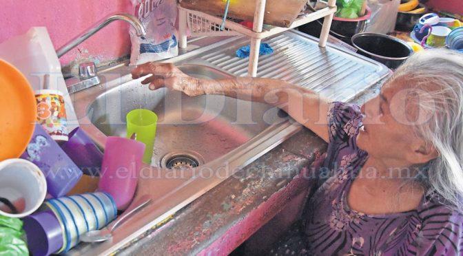 Chihuahua: Covid, calor… y no tienen agua  (Diario de Chihuahua)