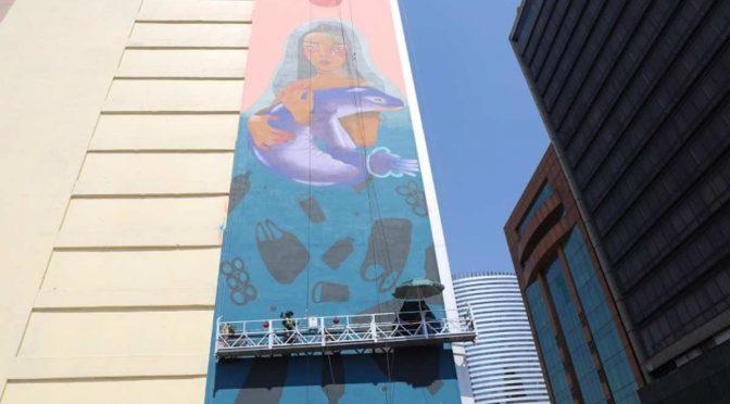 CDMX: Inauguran mural 'Diosa del Agua' por Día Mundial de los Océanos (Excelsior)