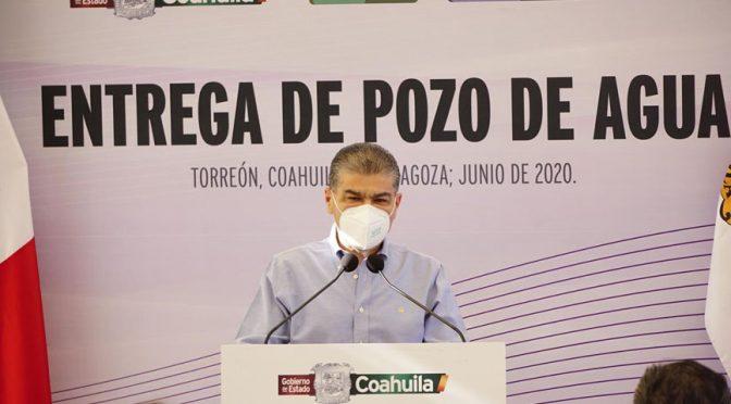 Torreón: Con Inversión de 19 MDP, Mars entrega pozo de agua (InterSIP)
