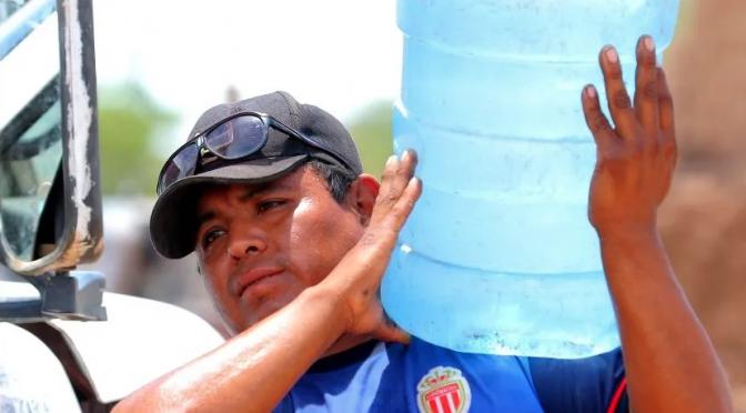 Sonora: Recomiendan almacenar agua durante el verano (El Imparcial)