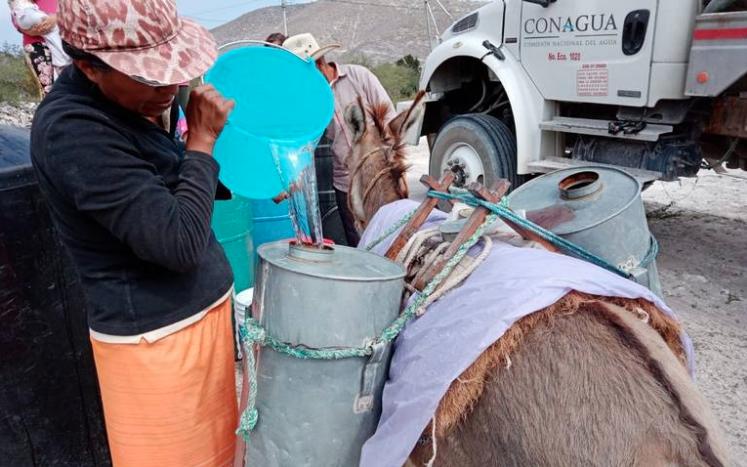 San Luis Potosí: Ha distribuido Conagua más de 2 millones de litros de agua (El Sol de San Luis)