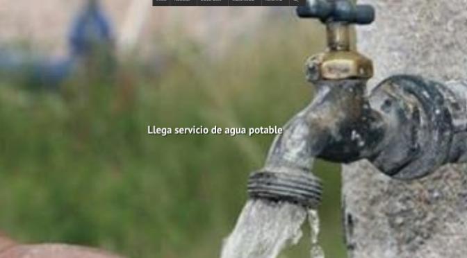 Zacatecas: Llega servicio de agua potable (NTR)