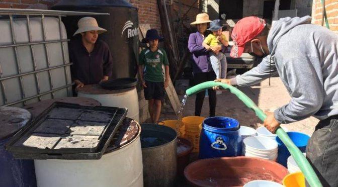 Querétaro: Dotan de agua a 250 familias en Huimilpan (Diario de Querétaro)