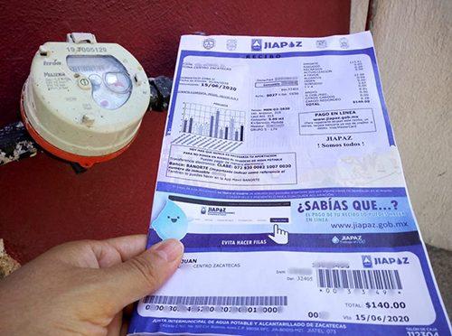 Pagarán tarifa mínima 86 mil usuarios de la Junta Intermunicipal de Agua Potable (La Jornada Zacatecas)