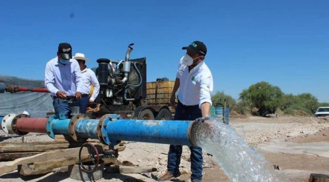 Coahuila: Supervisa Gobierno del Estado obras de agua potable en La Laguna (Noticias de El Sol de la Laguna)