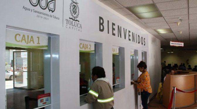 Edomex: Ofrecen descuentos para pago del agua en Toluca (Toluca la bella Cd.)