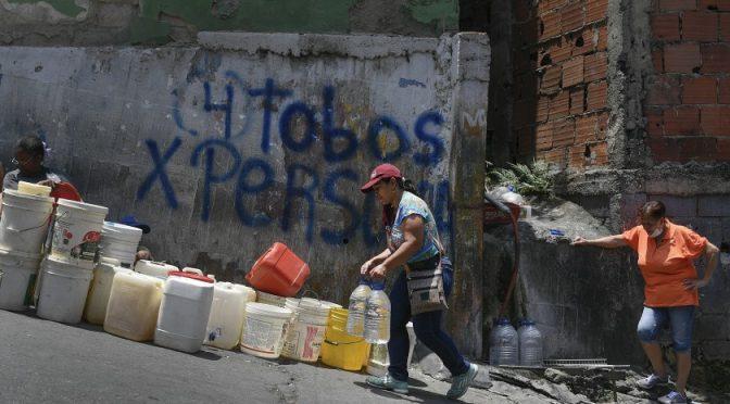 Colombia: Vivir sin agua corriente bajo la amenaza del coronavirus (Infobae)