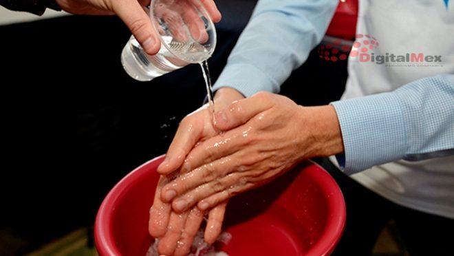 Edomex: Por cuarentena, aumenta hasta 50% consumo de agua en el Valle de México: CAEM (Digitalmex)
