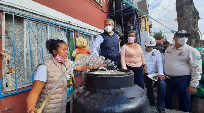 Edomex: Gobierno de Ecatepec se instala en zona con escasez de agua para atender crisis (El Heraldo de México)