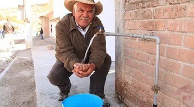 Van más de 20 millones de pesos en obras de agua potable en Guanajuato (Milenio)