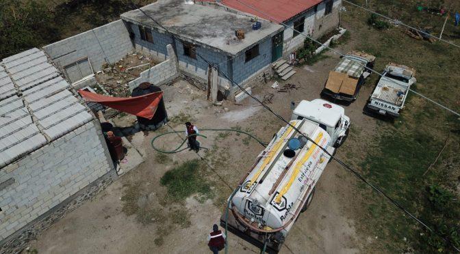 Provee Gobierno Municipal 1 millón de litros de agua a la ciudad de Puebla (24 Horas)