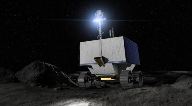 NASA paga 199.5 mdd para buscar agua en la Luna con este robot (24 Horas)