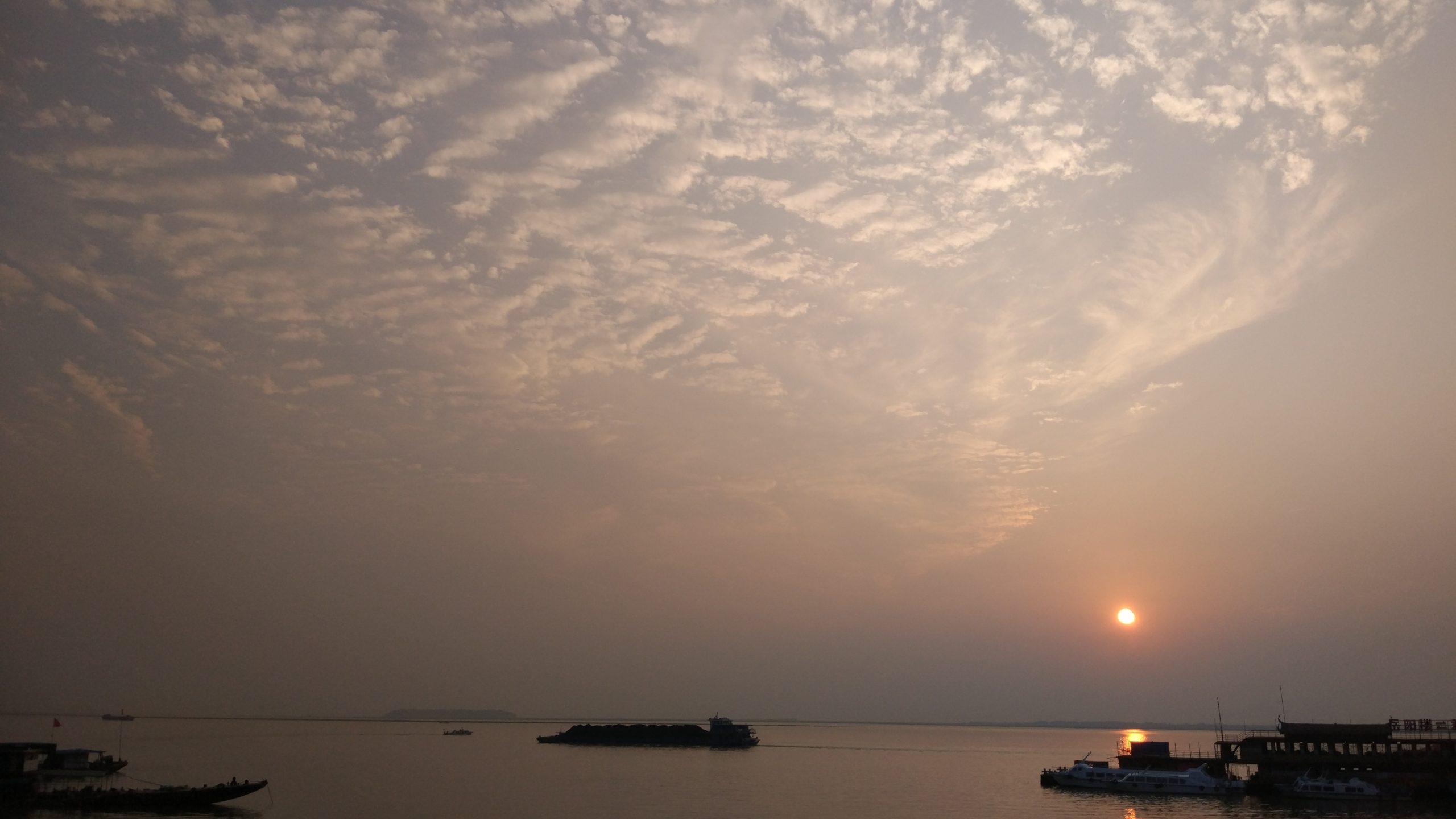 China: Excede nivel de agua garantizada de lago de agua dulce en provincia central de China (Xinhuanet)