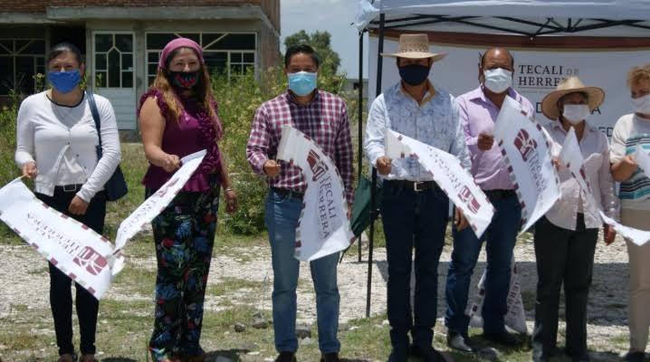 Puebla: Erasto Amador inicia obra de agua potable en Ajajalpan (Intolerancia)