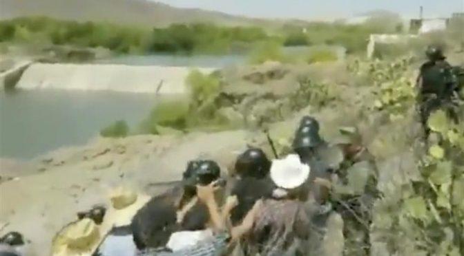 Usan conflicto por aguas hasta los de Morena.-AMLO (Reforma)