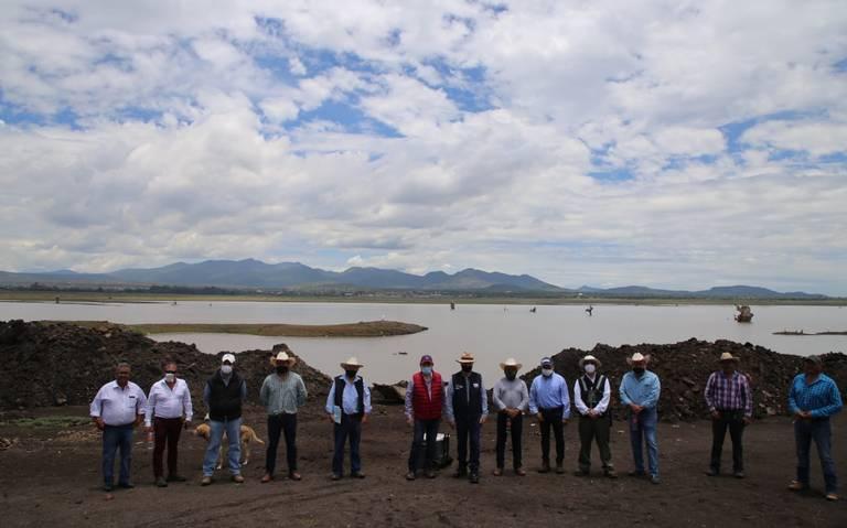 Hidalgo: Presa Constitución sin agua (El Sol de San Juan del Río)