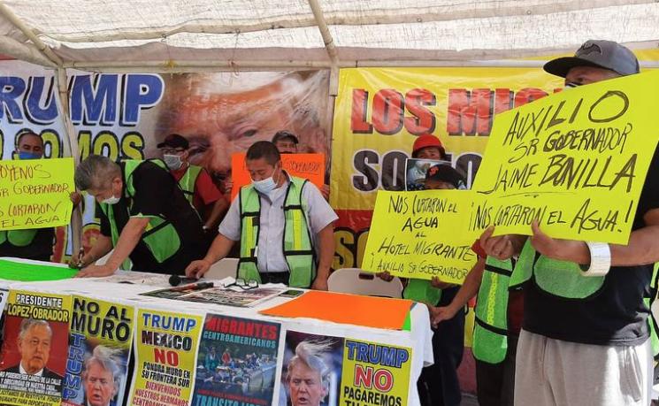 Baja California: Le cortan el agua a el Hotel Migrante (El Sol de Tijuana)