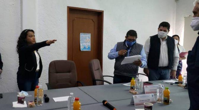 Morelos: Rinde protesta nueva comisaria del SOAPSC (El Sol de Cuautla)