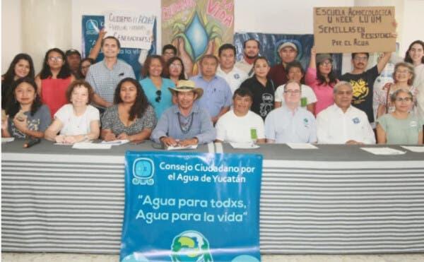 Comunicado del Consejo Ciudadano por el Agua de Yucatán (Diario de Yucatán)