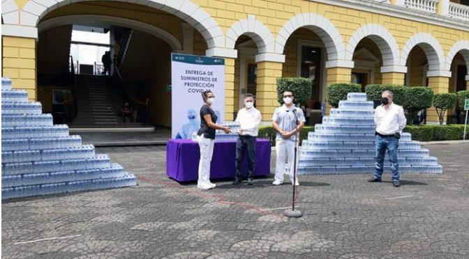 Veracruz: Donan agua al Hospital Regional de Río Blanco. (El Mundo)