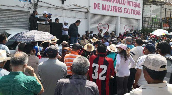EDO. MÉX. : En Ixtapaluca, se reúnen por la disputa de pozos de agua. ( Milenio)