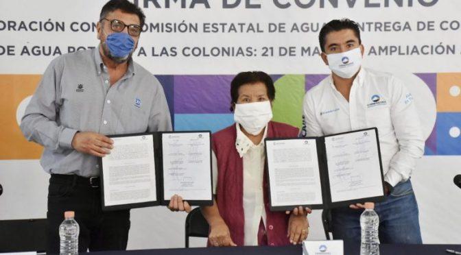 Querétaro: Corregidora y CEA llevarán agua a de las colonias 21 de marzo y Ampliación 21 de marzo. (El Queretano)