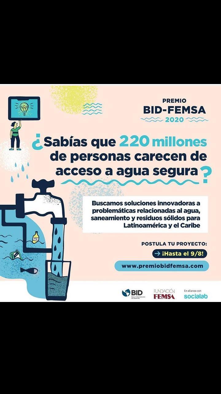 Premio BID-FEMSA 2020