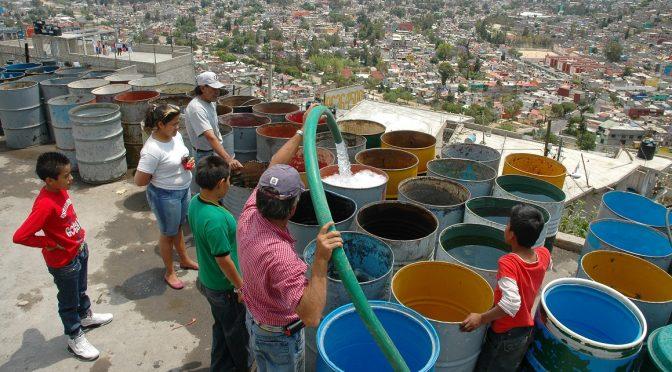 EdoMex: Exigen regularizar en Coacalco abasto de agua (La Jornada)