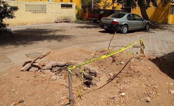San Luis Potosí: Arreglan fallas en redes de agua potable y drenaje (Pulso SLP)