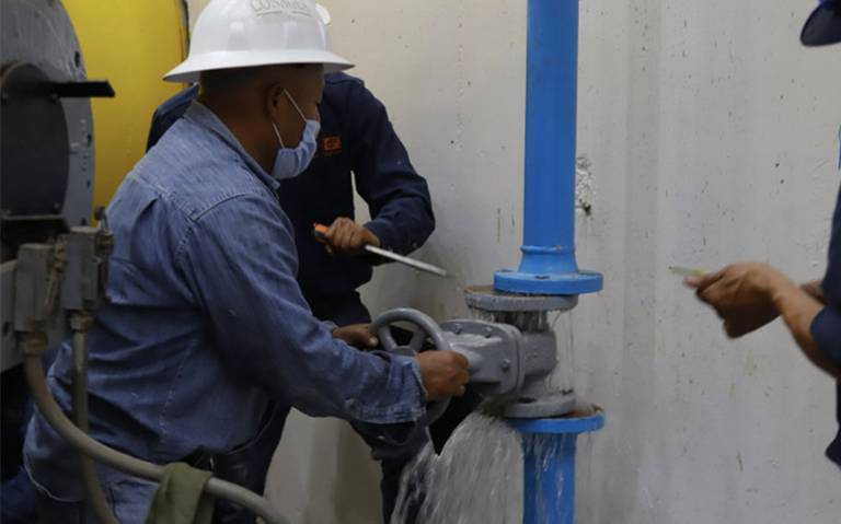 Conagua reinicia suministro de agua potable en Valle de México (El Sol de México)