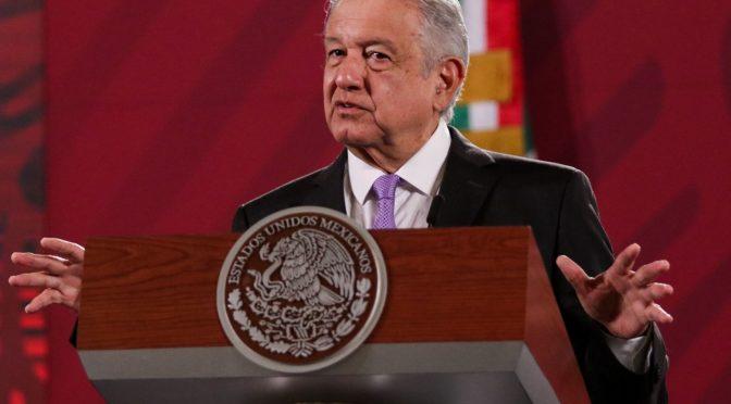 """AMLO acusa que por """"huachicol de agua"""" en Chihuahua se rechaza tratado con EU (Expansión)"""