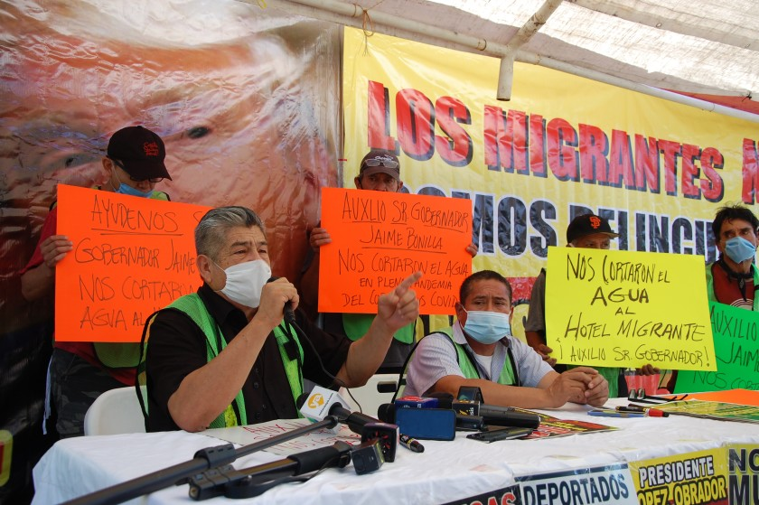 Baja California: Suspenden servicio de agua al Hotel Migrante en Tijuana (The San Diego Union- Tribune)