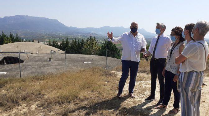 El Gobierno de La Rioja financiará el 80 por ciento de las obras del depósito de abastecimiento de agua de Haro (Nuevecuatrouno)