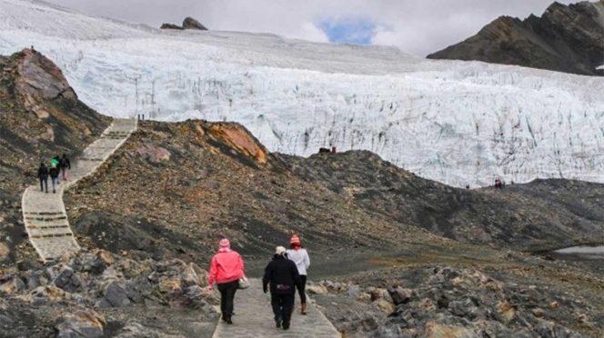 Perú: Glaciares se derriten a la mitad por cambio climático (Excélsior)