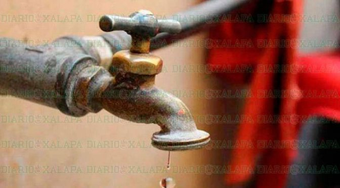 Veracruz: Tome precauciones: 11 colonias de Xalapa amanecen sin agua (Diario de Xalapa)