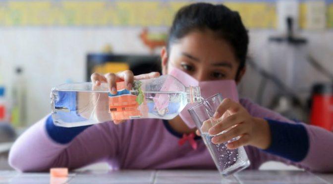 El gasto en agua embotellada se duplicó en CDMX durante la pandemia (El Economista)