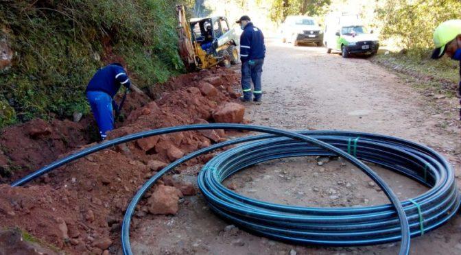 Nueva obra de Agua Potable beneficiará a residentes ubicados sobre la ruta Nº 4 de Los Nogales (Jujuy al día)