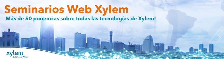 """España: """"Tecnología MBR para la reducción de espacio y obtención de agua regenerada"""" Webinar de Xylem, 14 de julio a las 12:00 horas (Aguas Residuales)"""