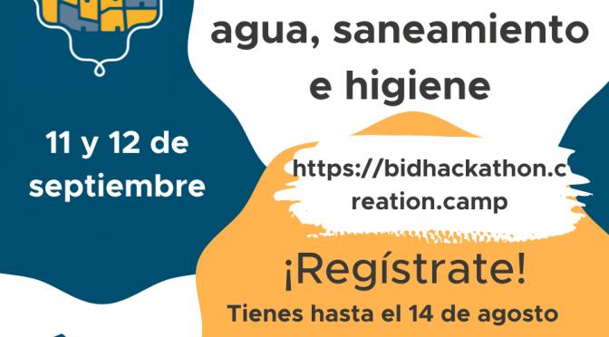 e-Hackathon en agua, saneamiento e higiene en asentamientos informales de América Latina y el Caribe