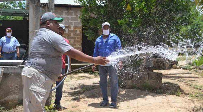Cumple con el agua en ranchería (Diario de Chiapas)