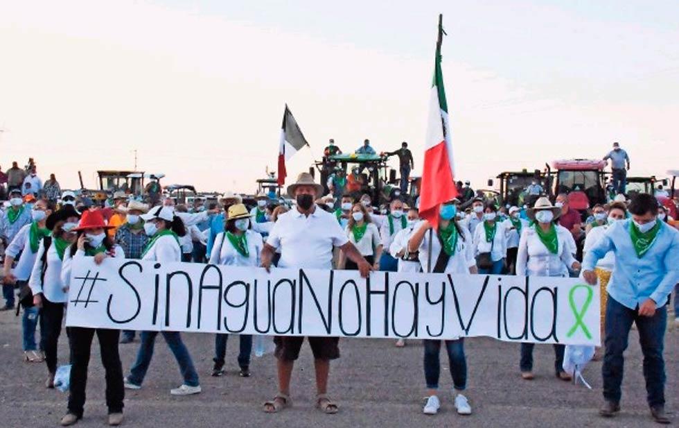 Chihuahua: Alzan mujeres la voz por defensa del agua (El Diario de Chihuahua)